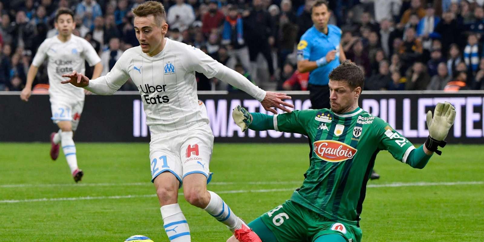 Valentin Rongier devant Ludovic Butelle, le 25 janvier 2020.