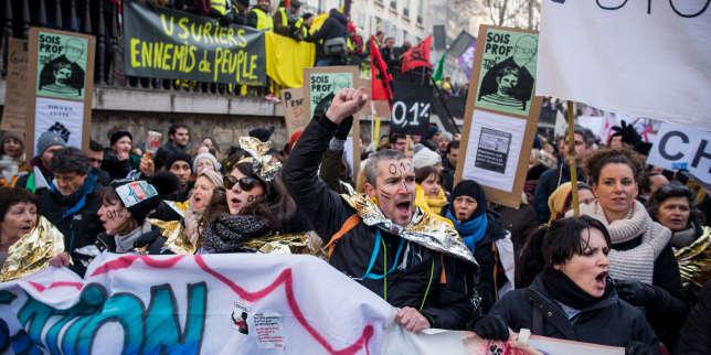 Neuvième journée de mobilisation contre la réforme des retraites