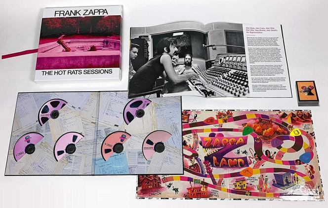 Le coffret de 6 CD«The Hot Rats Sessions», de Frank Zappa.