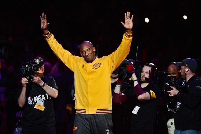 Kobe Bryant en 2016.