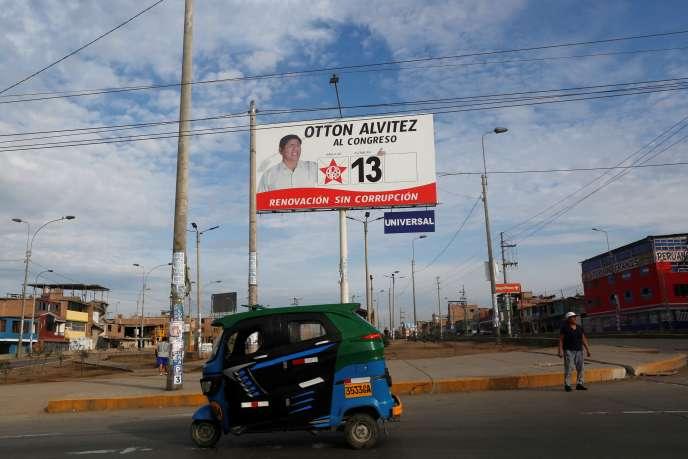 A Lima, le 25 janvier 2020.