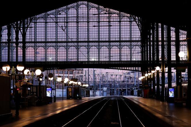 Gare du Nord, le 15 janvier.