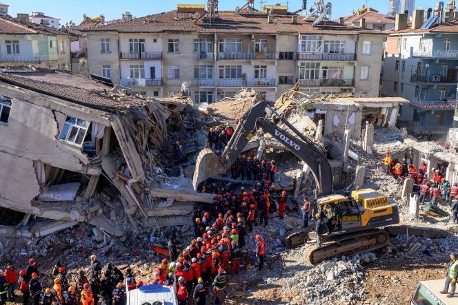 A Elazig en Turquie, le 26 janvier, après le séisme.