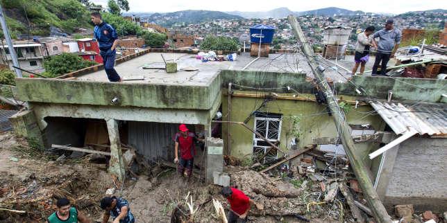 Au moins trente morts lors d?une tempête au Brésil