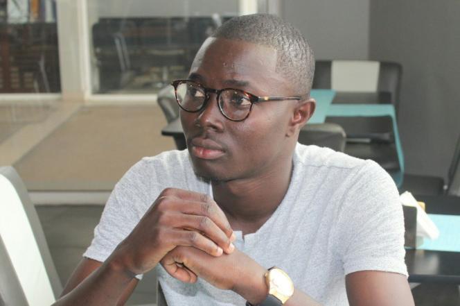 Le journaliste béninois Ignace Sossou.