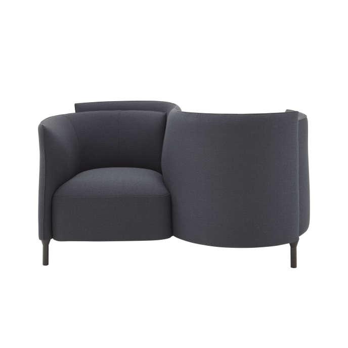 Le Confident, un mobilier tombé dans l'oubli et réinventé par Philippe Nigro,collection Hémicycle, Ligne Roset & Mobilier National.