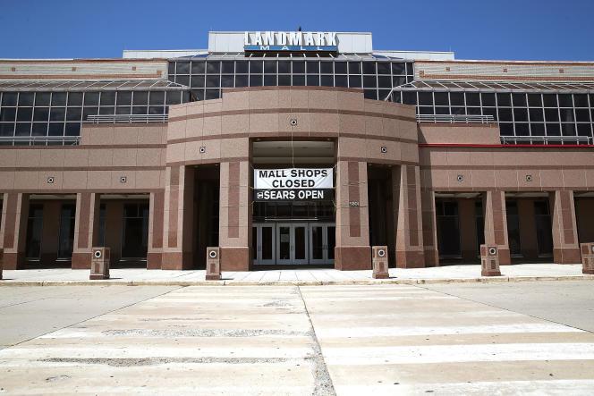 Le centre commercial Landmark, à Alexandria (Virginie), ferme ses portes en août 2017. Il avait ouvert en 1965.