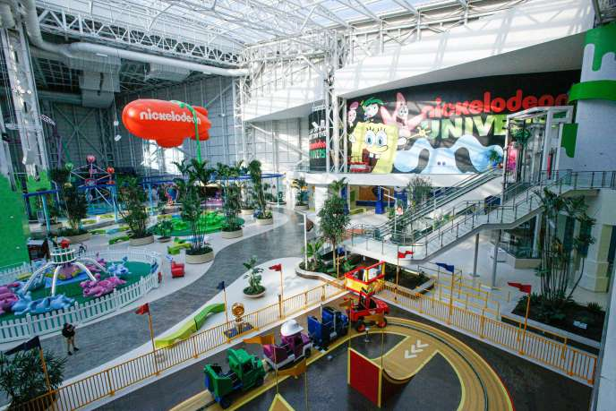 Un parc à thème dans le mall « American Dream», à East Rutherford (New Jersey), le 19 décembre 2019.