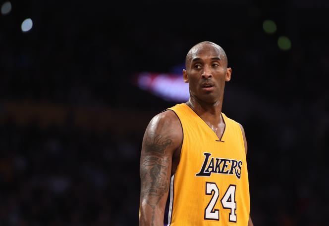 Kobe Bryant, en 2015.