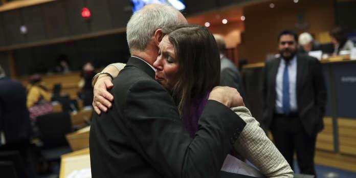Au Parlement européen, les adieux sans effusion des Britanniques