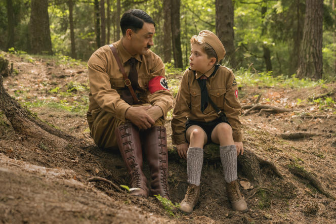 Taika Waititi (Adolf Hitler) et Roman Griffin Davis (JojoBetzler).