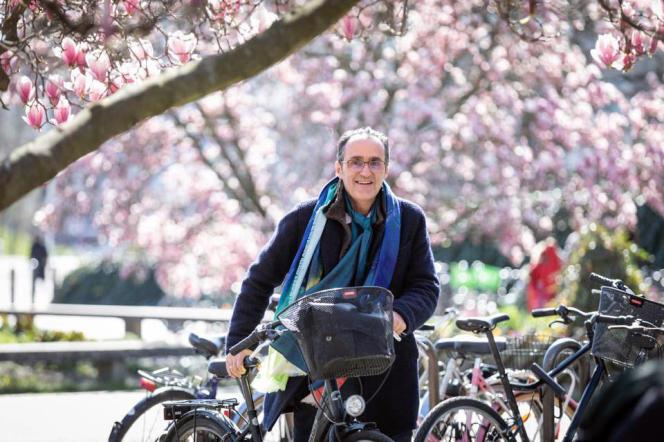 Alexandre Feltz, pionnier du sport sur ordonnance et candidat sur la liste EELV pour les municipales de 2020 à Strasbourg.