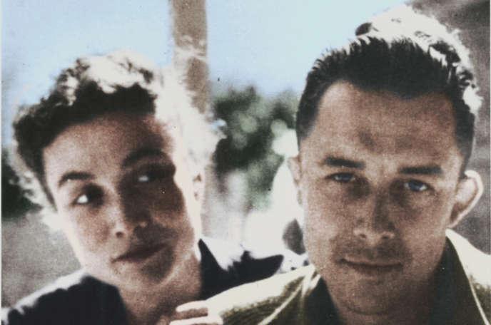 Francine et Albert Camus dans les années 1960.