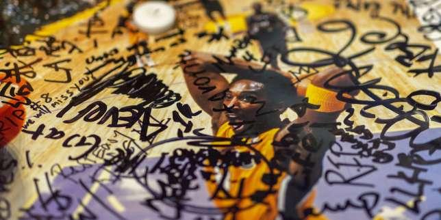 Après la mort de Kobe Bryant, l'hommage de ses fans aux Etats-Unis