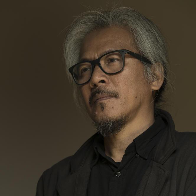 Le réalisateur philippin Lav Diaz à Berlin, en février 2018, lors de la 68e Berlinale (Festival international du film de Berlin).