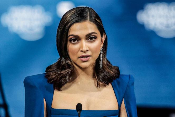 Deepika Pakudone, lors de l'ouverture du Forum économique mondial de Davos (Suisse), le 20 janvier.