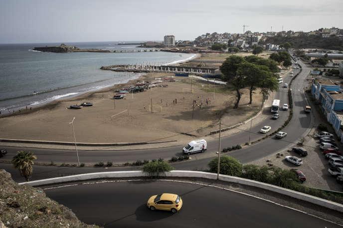 Praia, capitale du Cap-Vert, en octobre 2019.