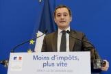Gérald Darmanin, à Paris, le 28 janvier.