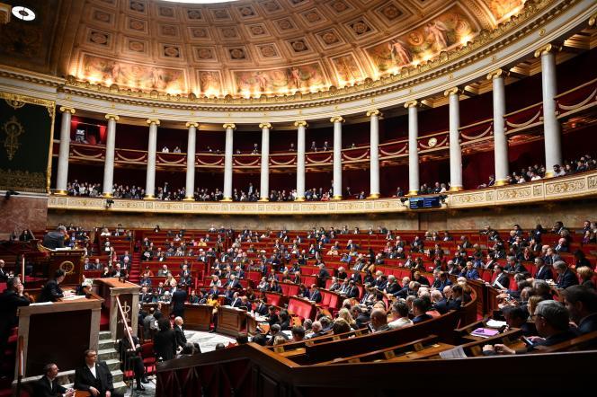 Questions au gouvernement, le 21 janvier, à l'Assemblée nationale.