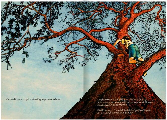 Double page de l'album «Martha & Alan».