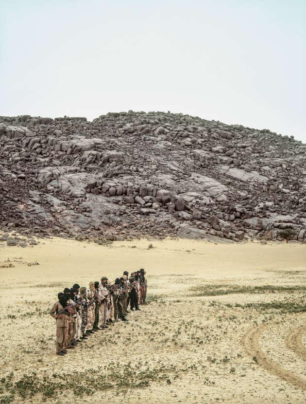 Combattants de l'ADC, Boghassa, Mali, 2008.