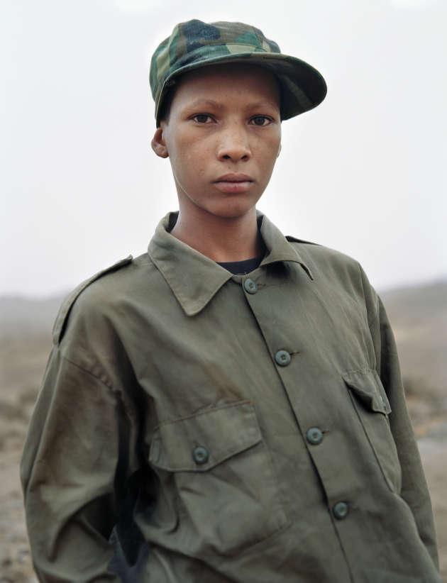 Aide de camp d'un commandant de l'ADC, Mali, 2008.