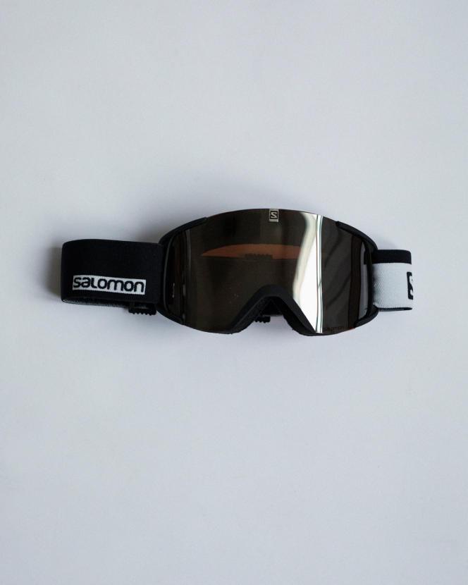 Masque de ski Aksium Black, Salomon, 50 €.