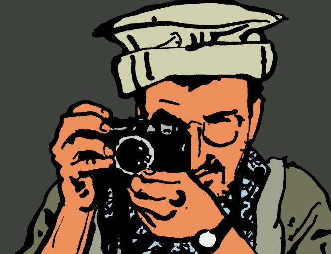 Couverture du tome 1 du «Photographe», 2003.