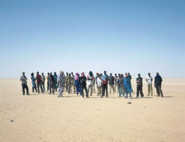 Migrants abandonnés, Niger, 2010.
