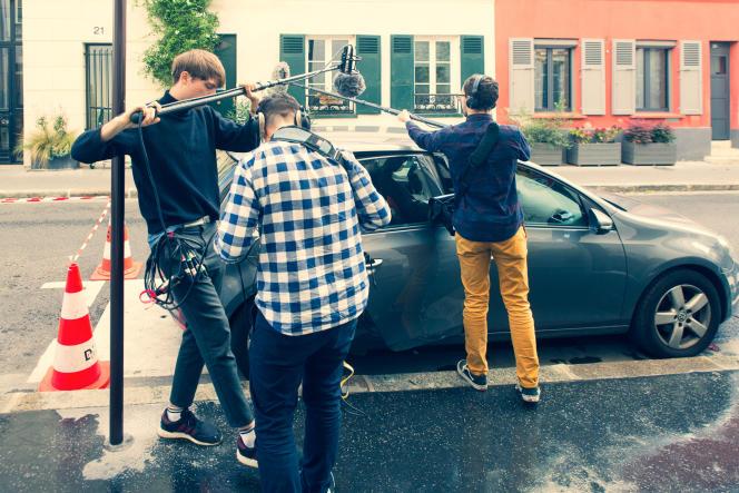 Sur le tournage du «Nuage», une fiction produite par Nouvelles Ecoutes et Spotify.