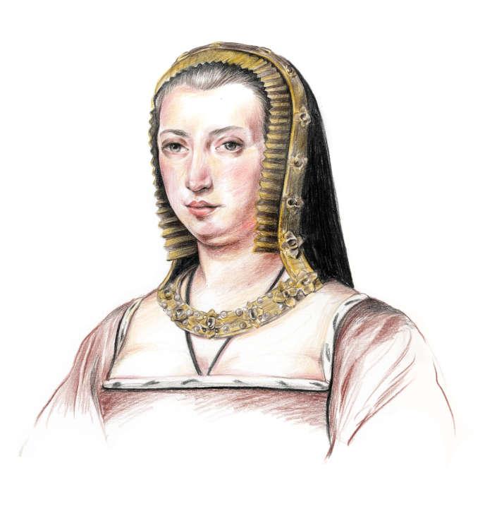 Anne de Bretagne (1477-1514).