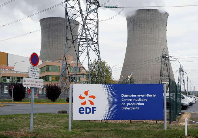 La centrale nucléaire de Dampierre-en-Burly (Loiret), en octobre 2016.