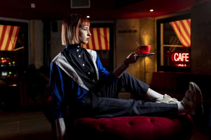 Suzane, au Café du temple, à Paris, le 21 janvier.