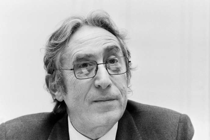 Theo Klein, à Paris, en mars 1983.