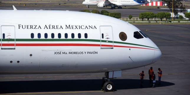Au Mexique, une loterie pour gagner l'avion officiel du président