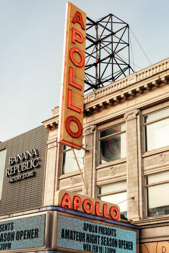 L'Apollo Theater.