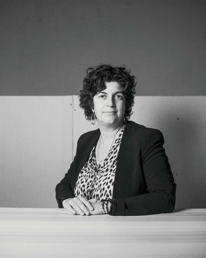 La torréfactrice Anne Caron.