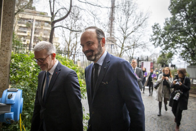 Le premier ministre Edouard Philippe à Paris le 30 janvier.