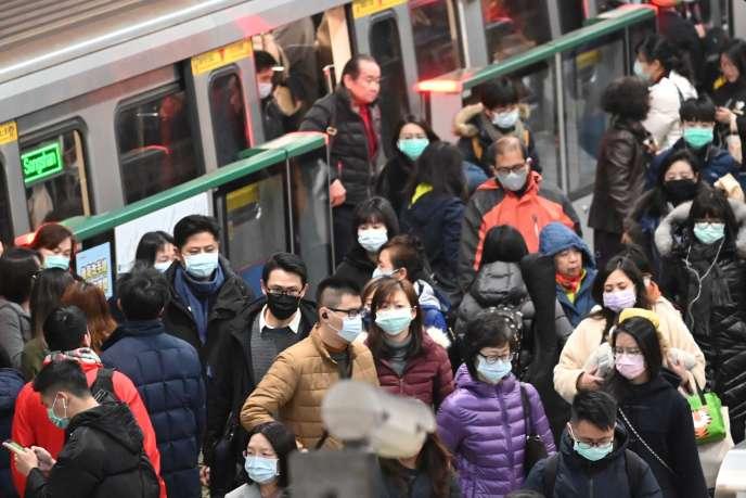 Taïwan, le 30 janvier.