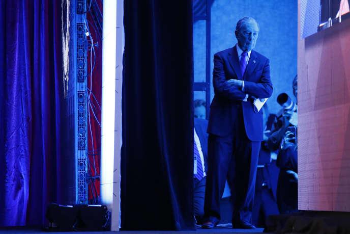 Le candidat démocrate Michael Bloomberg, le 22janvier.