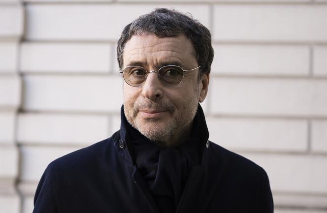 L'homme d'affaires franco-algérien Alexandre Djouhri, le 26février2019, à Londres.