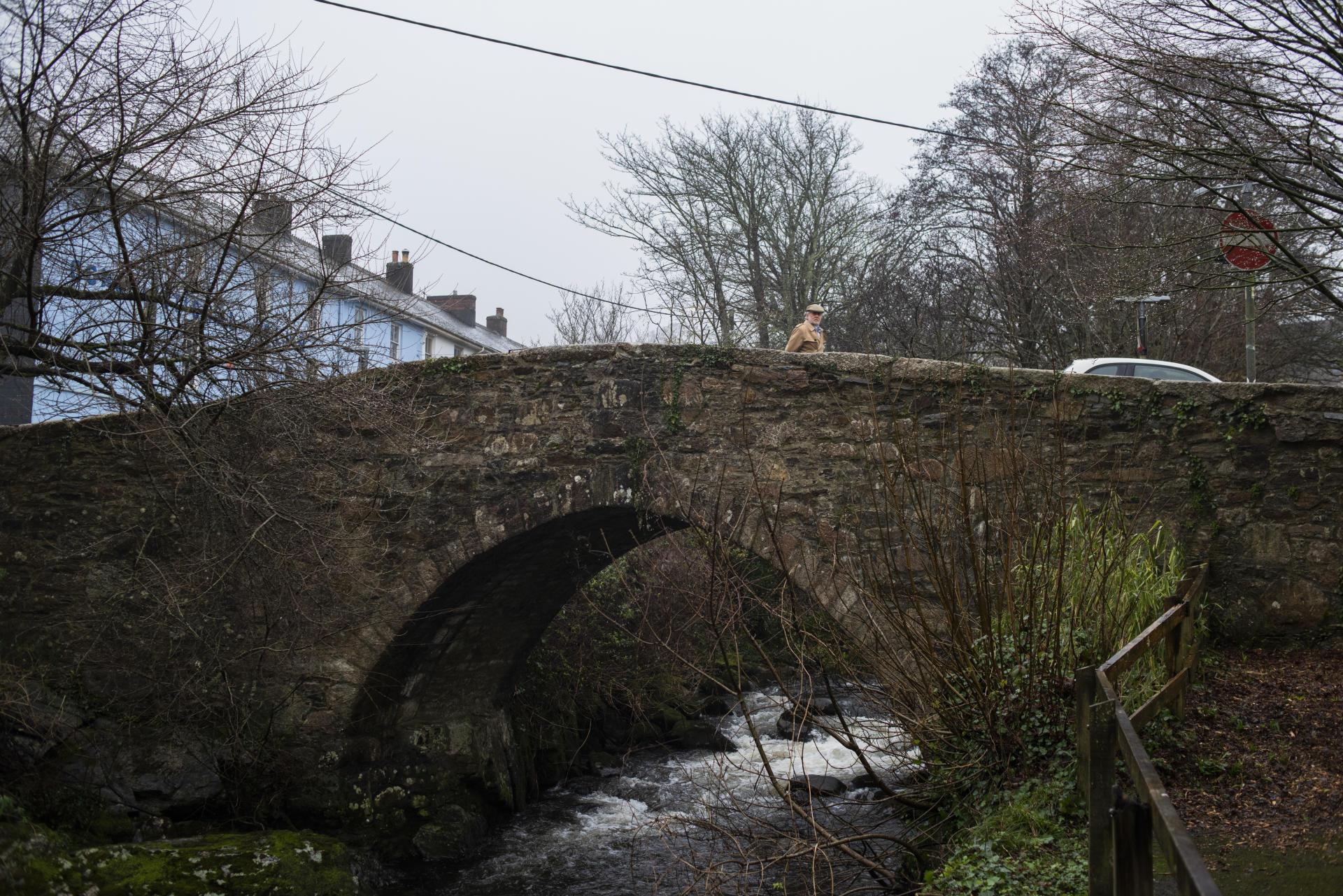 Ivy Bridge, le pont qui a donné son nom à la ville, le 30 janvier.
