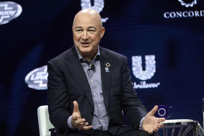 Alan Jope, le PDG d'Unilever, à New York, le 24 septembre.