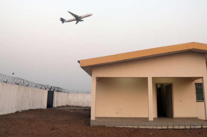 Le centre de confinement de l'aéroport d'Abidjan, en Côte d'Ivoire, où une personne a été placée en observation le 26janvier.