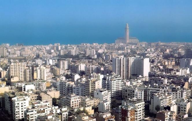 Casablanca, capitale économique du royaume.