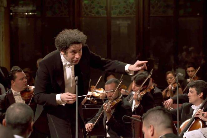 Le chef d'orchestre vénézuélienGustavo Dudamel a dirigé l'intégrale des symphonies de Ludwig van Beethoven.