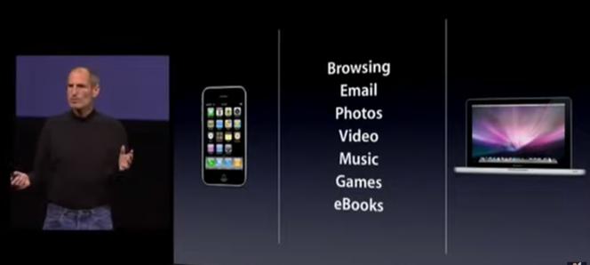 Les usages dans lesquels l'iPad est meilleur que le smartphone et l'ordinateur, selon Steve Jobs.