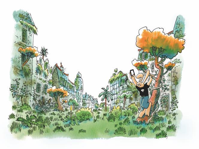 Illustration de couverture de l'album Les Herbes folles, 2019