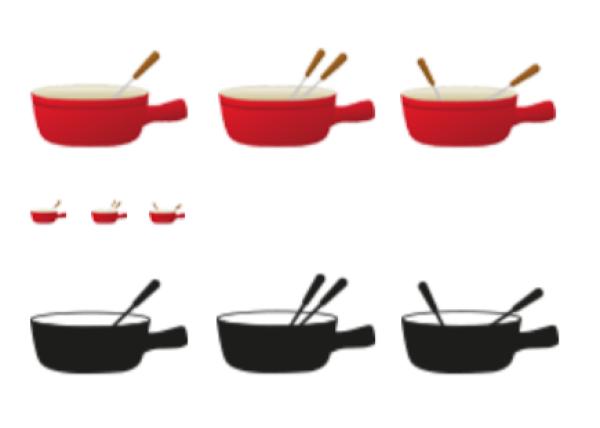 L'emoji proposé par les journalistes de« 20 Minuten» n'arborait pas le fanion suisse.