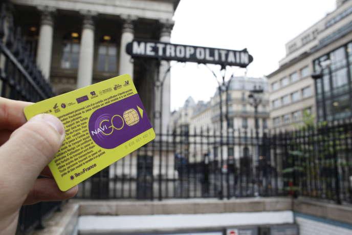 « La fréquentation des transports franciliens se situe aujourd'hui à 10 % du trafic habituel, qui s'établit en temps normal à 5 millions de voyageurs par jour. » ELIOT BLONDET / AFP